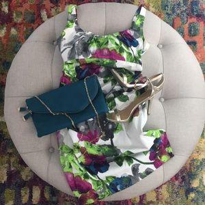 Suzi Chin for Maggy Boutigie floral dress